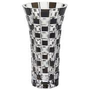 GW6052-232BK [グラスワークス アーバン 花瓶(黒) 20cm]