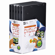 OA-RDV6-5PK [DVD&CDケース 6枚収納×5個]