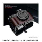 XS-CHG5XBR [キヤノンG5X用 カメラハーフケース ブラウン]
