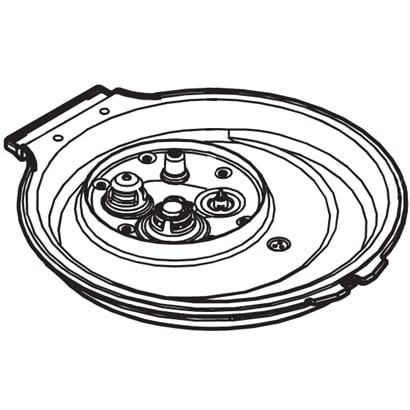 ARB96-G25JUU [炊飯器用ふた加熱板]