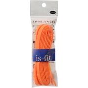 is-fit シューレース K-9 AC 蛍光オレンジ 120cm [靴紐]