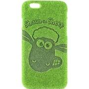 OM/SBC-IP632 [iPhone6/6s ひつじのショーンコラボケース Shibaful Shaun Haha!(ショーン/かお)]