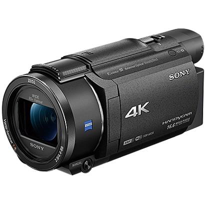FDR-AX55 BC [デジタル4Kビデオカメラレコーダー Handycam(ハンディカム) EVF・マニュアルリング搭載 ブラック]