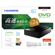 DVR-UT24EZ [DVD±R 24倍速書き込み USB 3.0対応 外付型DVDドライブ]