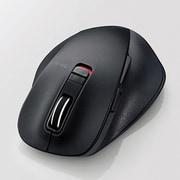 M-XGM10BBSBK [BlueLED 握りの極み M 静音 Bluetoothマウス 5ボタン ブラック]