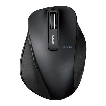 M-XGS10DBSBK [BlueLED 握りの極み S 静音 無線マウス 2.4GHz 5ボタン ブラック]