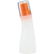 シリコンWブラシ オイルボトル オレンジ