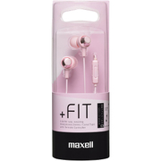 MXH-C110SCP [カナル型ヘッドホン「+FiT」シリーズ スマートフォン対応リモコンタイプ チェリーピンク]