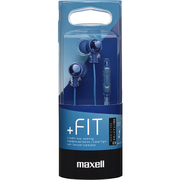 MXH-C110SDB [カナル型ヘッドホン「+FiT」シリーズ スマートフォン対応リモコンタイプ ダークブルー]