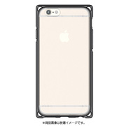 I6SPK02-JB [iPhone 6s Plus アドバンスト 耐衝撃ケース ゼリーブラック]