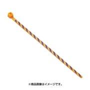 PLT1M-L3-7 [ストライプナイロン結束バンド オレンジ/紫]