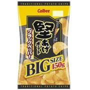 カルビー 堅あげBIGブラックペッパー 150g [菓子]
