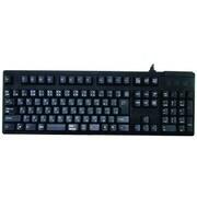 OWL-KB109BLJP-BK [Kailh青軸 メカニカルキーボード 109フルキー 日本語配列 テンキー付 USB・PS/2対応 ブラック]