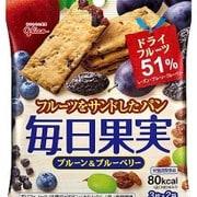 毎日果実 プレーン&ブルーベリー 3枚×2袋 [バランス栄養食品]