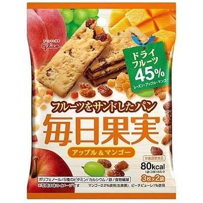毎日果実 アップル&マンゴー 3枚×2袋 [バランス栄養食品]