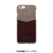 HAN7320i6S [iPhone 6s/6用 レザーポケットバー ハウンドトゥースBR]