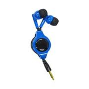 SASP-0342 [PSVita/PSP/New3DSLL/New3DS/スマホ用 巻き取り式コンパクトイヤホン ブルー×ブラック]