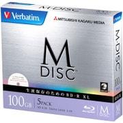 DBR100YMDP5V1 [BD-R XL 片面3層 100GB 2-4倍速対応 5枚 インクジェットプリンタ対応]