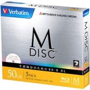 DBR50RMDP5V1 [BD-R DL 片面2層 50GB 1-6倍速対応 5枚 インクジェットプリンタ対応]