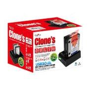 CLONES-03-SAID [CLONES HDD/SSDの複製スタンド SATA/IDE接続ドライブ両対応]