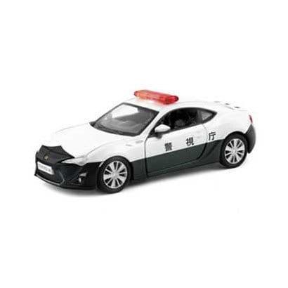 JDC5011-WT [ダイキャストミニカー キャストワールド トヨタ86 ポリスカー]