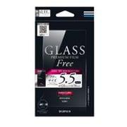 LP-SMP55FGLA [インチ別ガラスフィルム GLASS PREMIUM FILM Free 5.5インチ 0.33mm 通常]