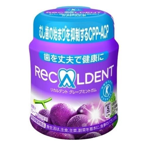 リカルデント グレープミント ボトル 140g [特定保健用食品]