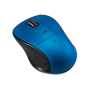 MUS-BKT111BL [Bluetooth 静音3ボタンBlue LEDマウス ブルー]