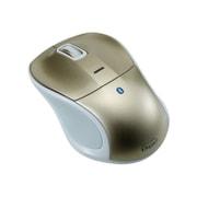 MUS-BKT111GL [Bluetooth 静音3ボタンBlue LEDマウス ゴールド]