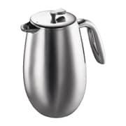 1308-16 [BODUM COLUMBIA フレンチプレスコーヒーメーカー ダブルウォール ステンレススチール 1.0L 34oz]