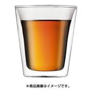 10109-10J [BODUM CANTEEN ダブルウォールグラス 0.2L 2個セット クリア]