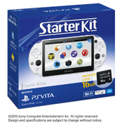 PlayStation Vita Starter Kit Wi-Fiモデル グレイシャーホワイト [PS Vita本体 PCHJ-10029]