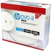 DR120CHPW10A [録画用DVD-R 10P スリムケース インクジェットプリンター対応ホワイトワイドレーベル CPRM対応 1-16倍速]