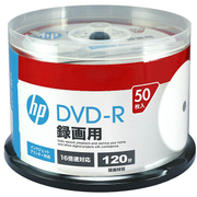 DR120CHPW50PA [録画用DVD-R 50P スピンドルケース インクジェットプリンター対応ホワイトワイドレーベル CPRM対応 1-16倍速]