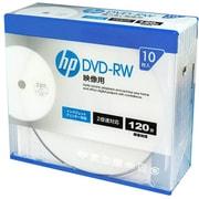 DRW120CHPW10A [録画用DVD-RW 10P スリムケース インクジェットプリンター対応ホワイトワイドレーベル CPRM対応 1-2倍速]