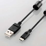 DGW-AMBF15BK [デジカメ用USBケーブル microB フェライトコア 1.5m]