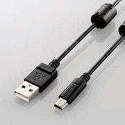DGW-MF05BK [デジカメ用USBケーブル miniB フェライトコア 0.5m]