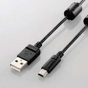 DGW-MF15BK [デジカメ用USBケーブル miniB フェライトコア 1.5m]