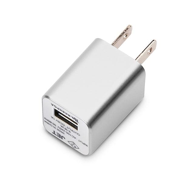 PG-WAC10A02SV [WALKMAN/スマートフォン用 USB電源アダプタ 1A シルバー]