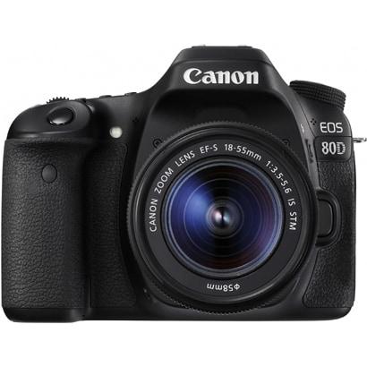 EOS 80D EF-S18-55 IS STM レンズキット [デジタル一眼レフカメラ レンズキット ボディ+交換レンズ「EF-S18-55mm F3.5-5.6 IS STM」]