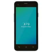 UPQ Phone A01X ブルー バイ グリーン [LTE対応 Android 5.1搭載 4.5インチ SIMロックフリースマートフォン]