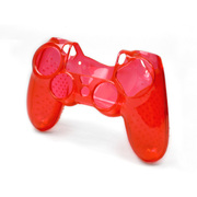 P4F1857 [PlayStation 4用 クリスタルカバー4 クリアレッド]