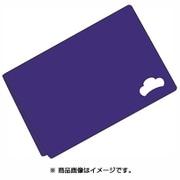 クラッチバッグ おそ松さん 松ロゴ カラ松 ブルー [キャラクターグッズ]