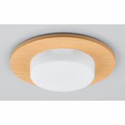 LDF8LBU004C LED電球 デコルミナ セット [パネル+電球「LDF8LBU」 ライトウッド]