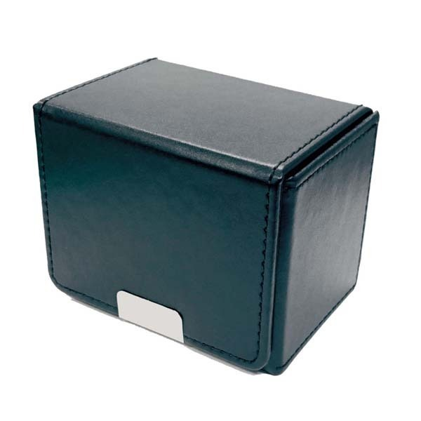 合皮製カードケース ブラック [トレ―ディングカード用品]