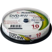 DVD-RW120.10WHT N [録画用DVD-RW 10枚 スピンドルケース 120分 2倍速 インクジェットプリンタ対応]