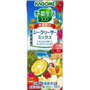 野菜生活100 シークヮーサーミックス 紙パック 200ml×24本 [野菜果汁飲料]