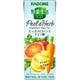 野菜生活100 Peel&Herb グレープフルーツ・バジルミックス 紙パック 200ml×24本 [野菜果汁飲料]