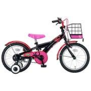 YG-0259 [子ども用自転車 BENETTON-KIDS16 ブラック/ピンク]