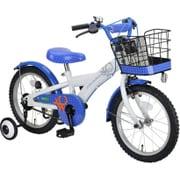 YG-0260 [子ども用自転車 BENETTON-KIDS16 ホワイト×ブルー]